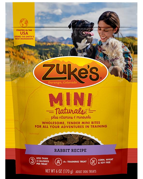 Zukes Treat Dog Natural Mini Rabbit