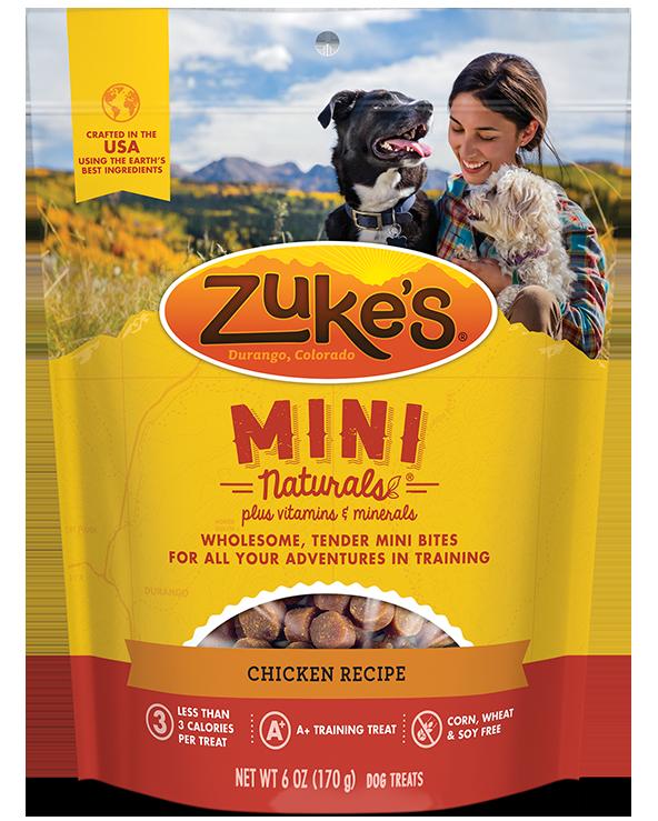 Zukes Treat Dog Natural Mini Chicken