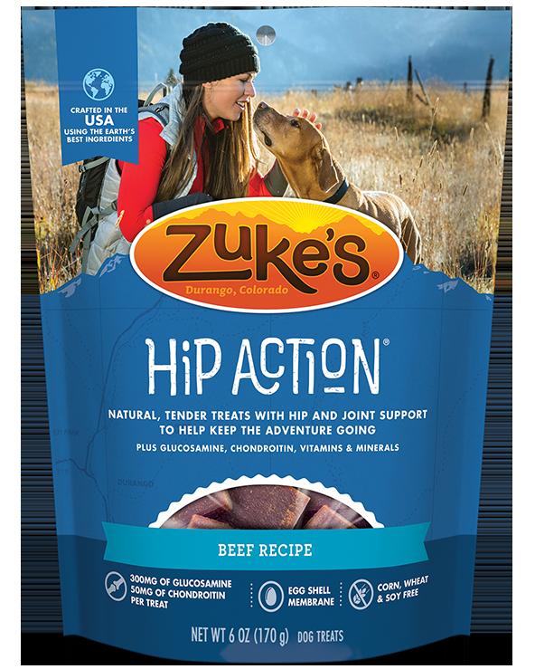 Zukes Treat Dog Hip Beef