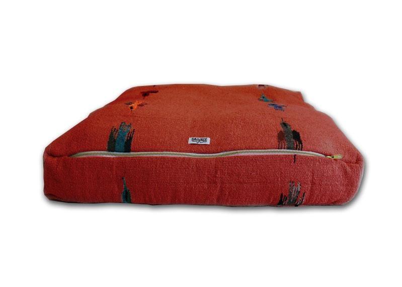 Salvage Maria Salvage Maria Bed Rectangular Thunderbird Red