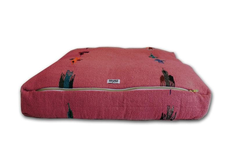 Salvage Maria Salvage Maria Bed RECTANGULAR THUNDERBIRD Dark Pink