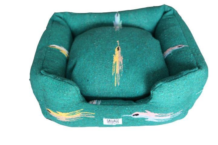 Salvage Maria Salvage Maria Bed BUMPER THUNDERBIRD TEAL