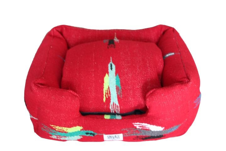 Salvage Maria Salvage Maria Bed Bumper Thunderbird Red