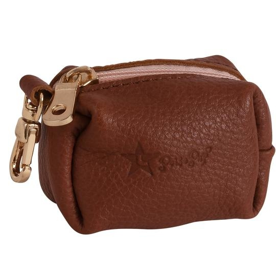 Poise Pup Waste Bag Holder Leather