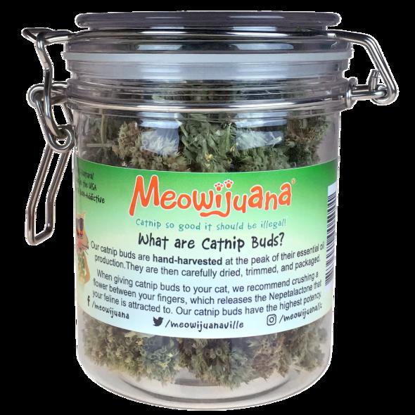 Meowijuana Meowijuana Cat Toy Purple Passion Catnip Buds Jar