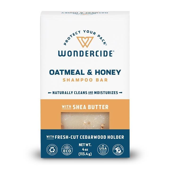 Wondercide Shampoo Bar Oatmeal & Honey