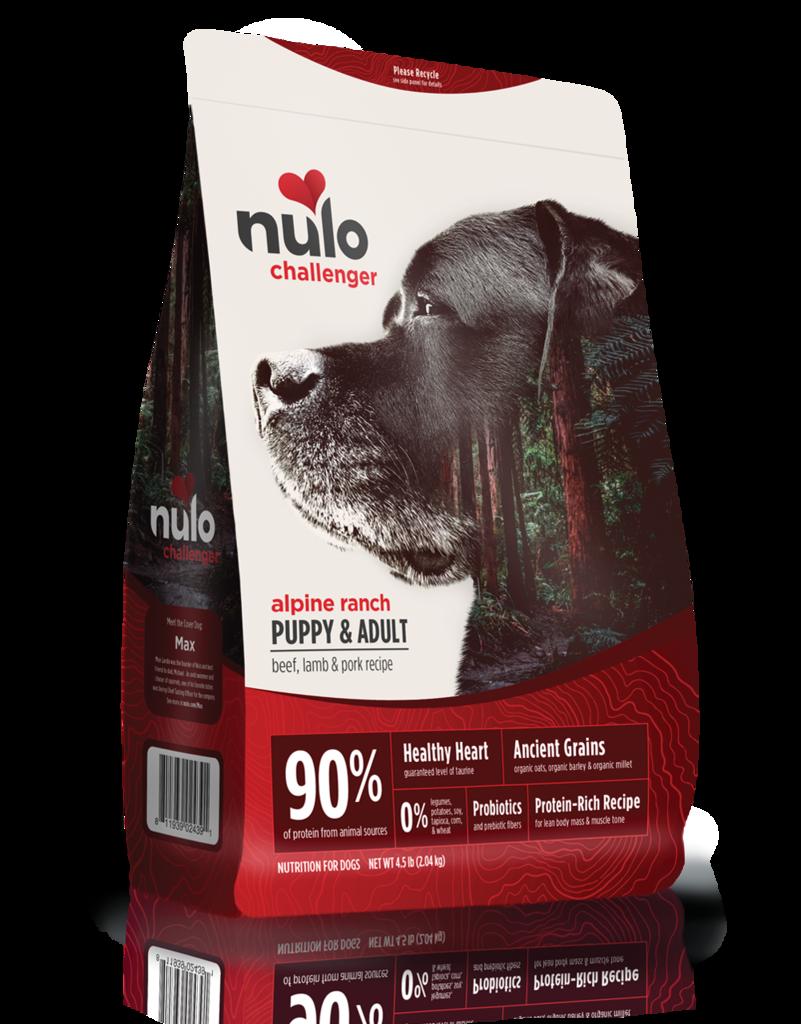 Nulo Nulo Challenger Kibble With Grain Dog Food Alpine Ranch