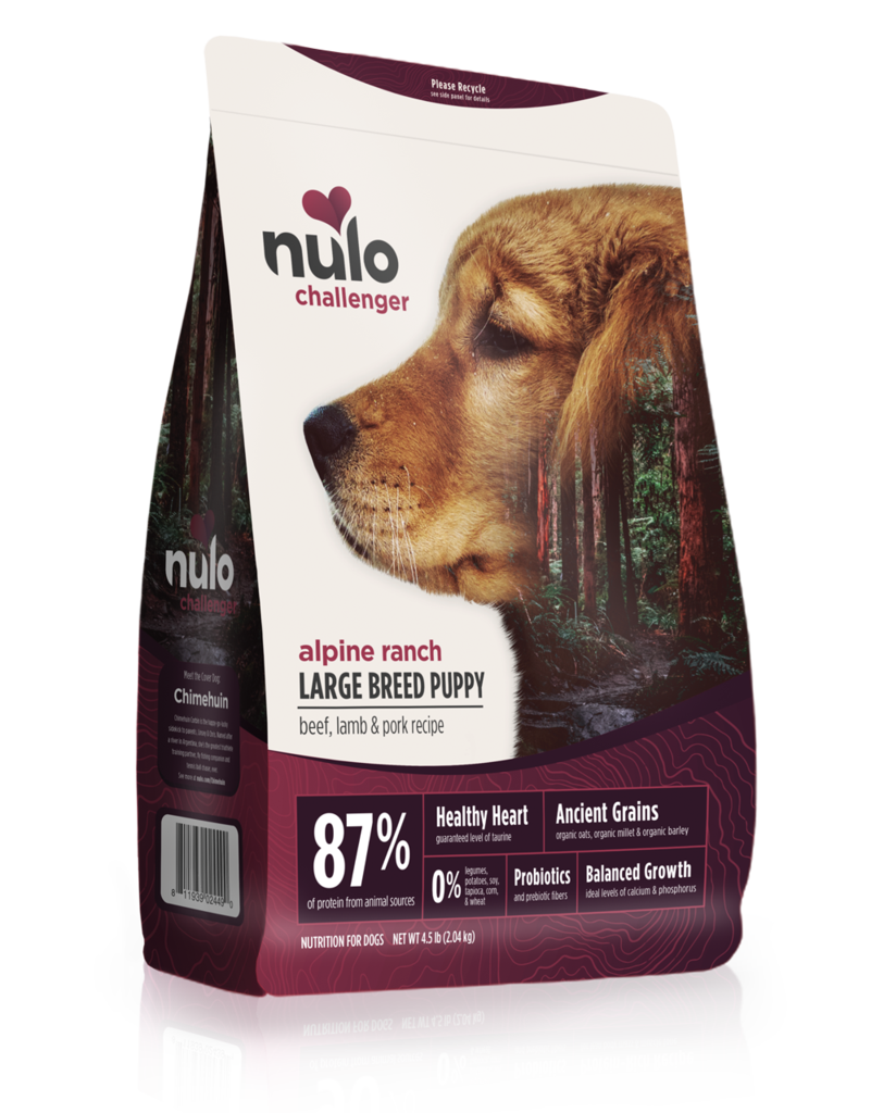Nulo Nulo Challenger Kibble With Grain Dog Food Alpine Ranch Large Breed