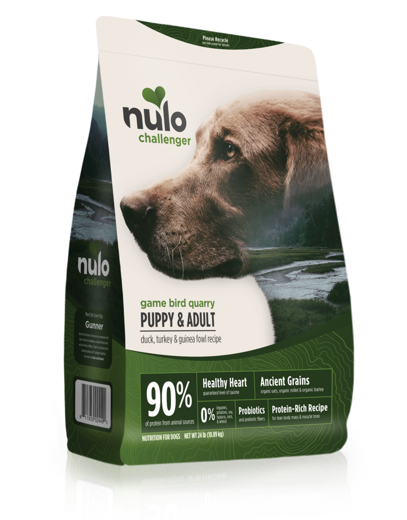Nulo Nulo Challenger Kibble With Grain Dog Food Gamebird Quarry