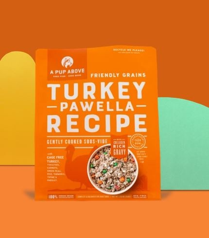 A Pup Above A Pup Above Dog Food Frozen Lightly Cooked Turkey Pawella