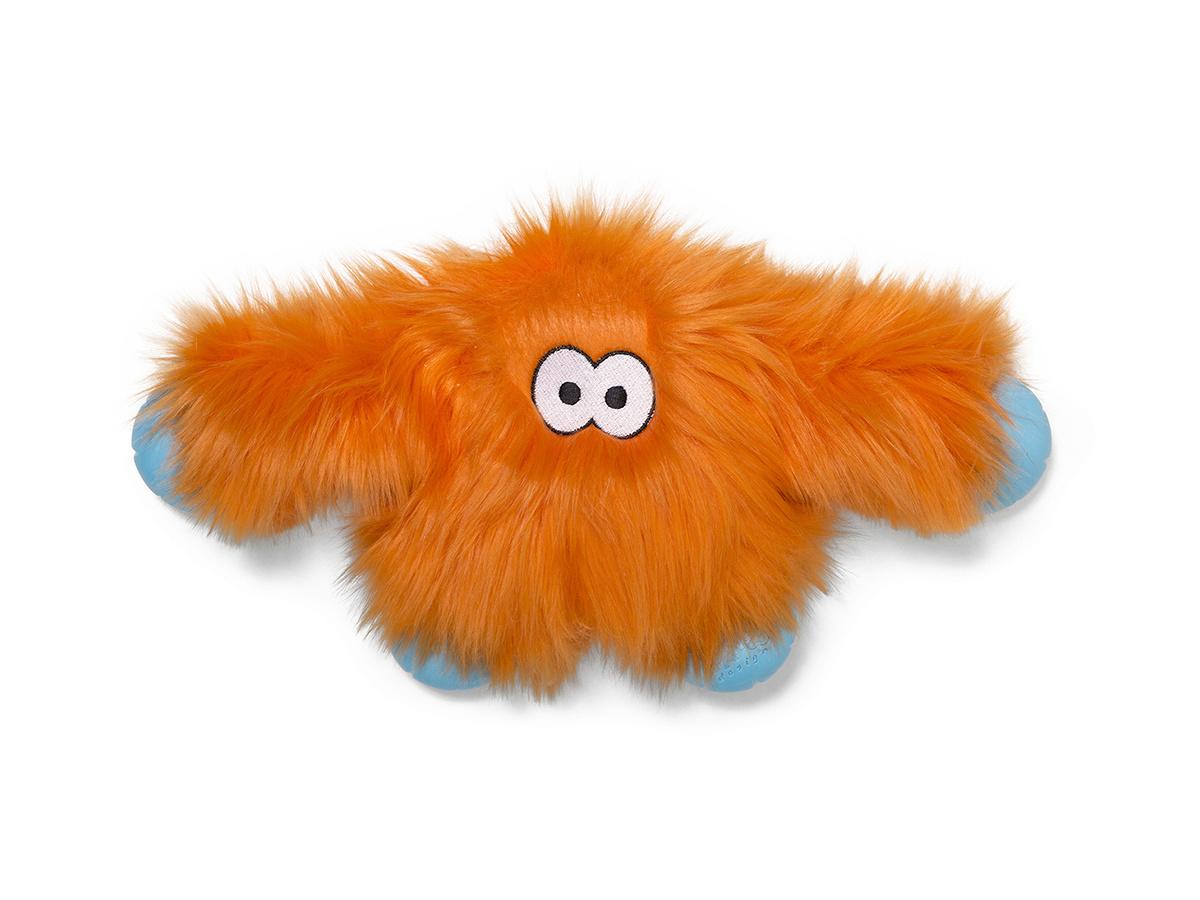 West Paw Dog Toy Jefferson Orange Fur (MFG Discontinue)