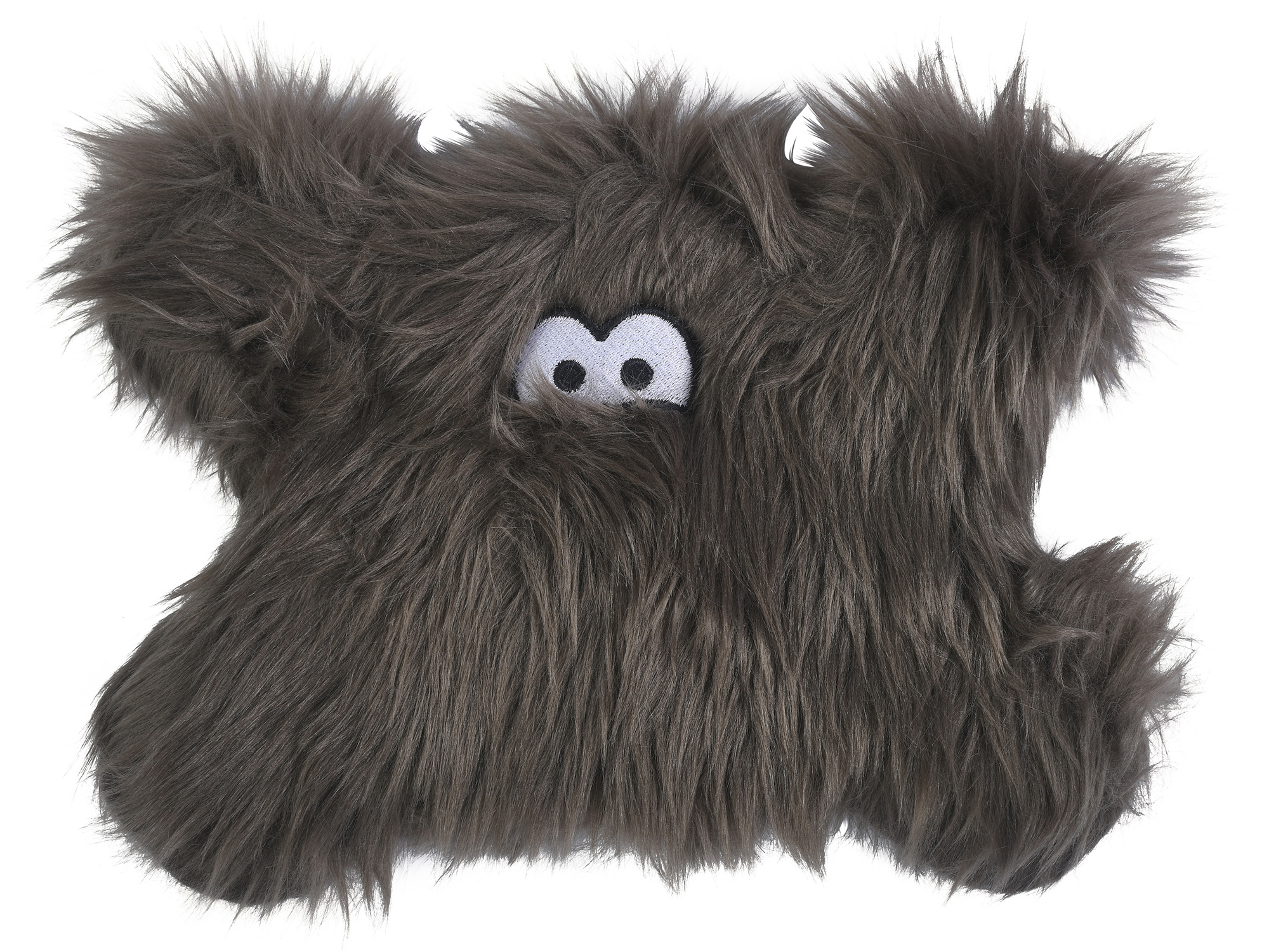 West Paw Dog Toy Froid Pewter Fur