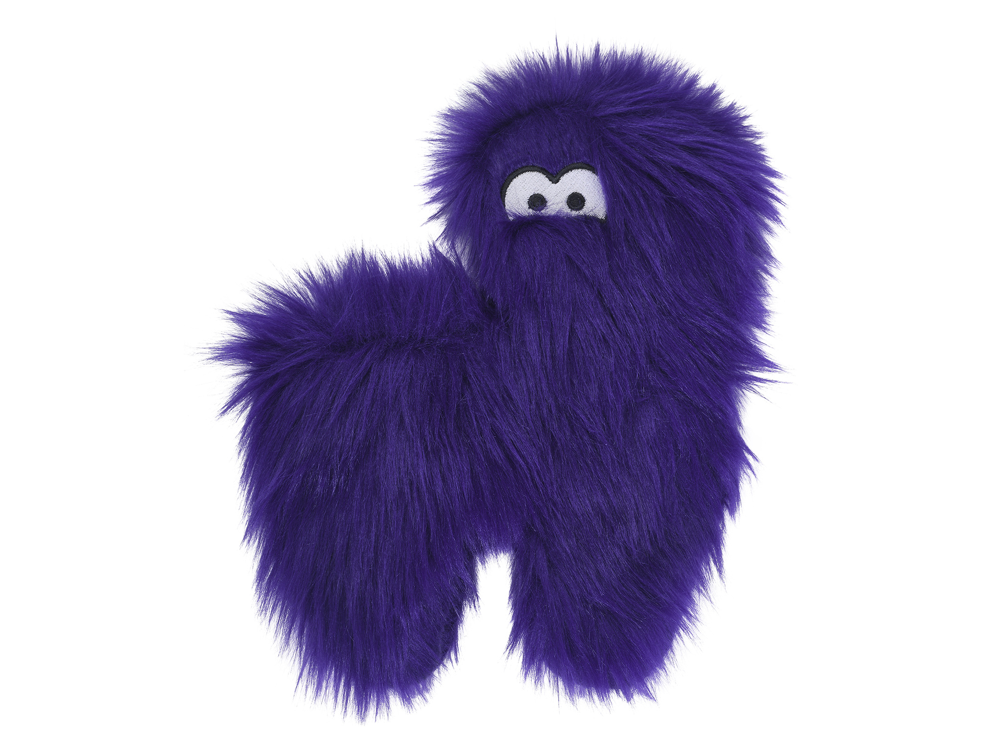 West Paw Dog Toy Hamilton Purple Fur