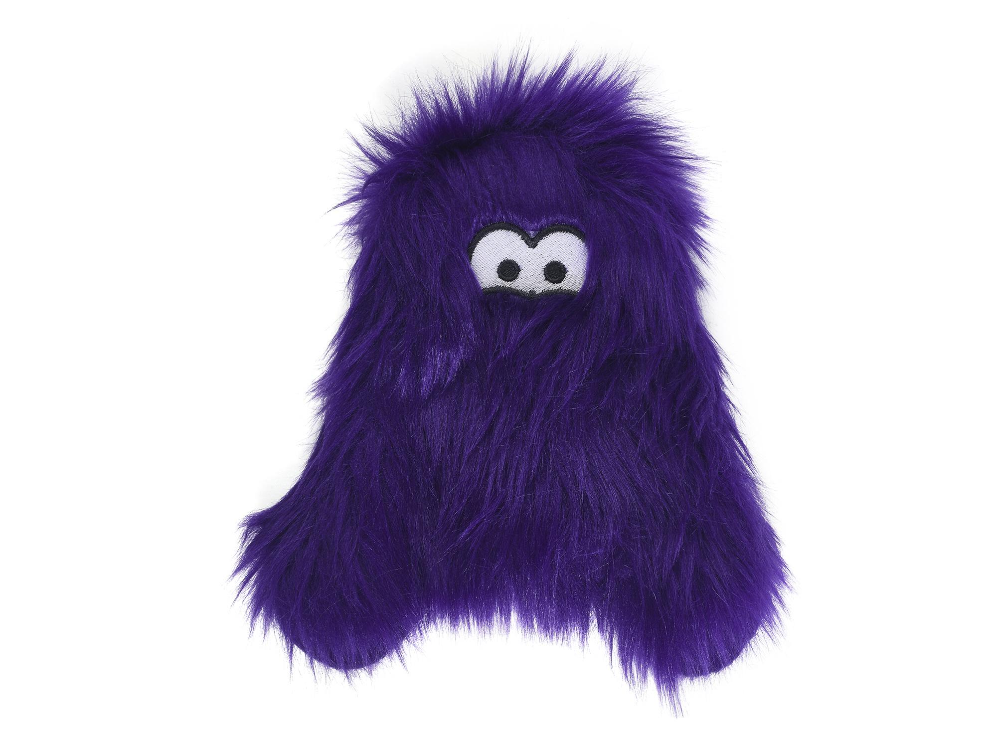 West Paw Dog Toy Richey Purple Fur