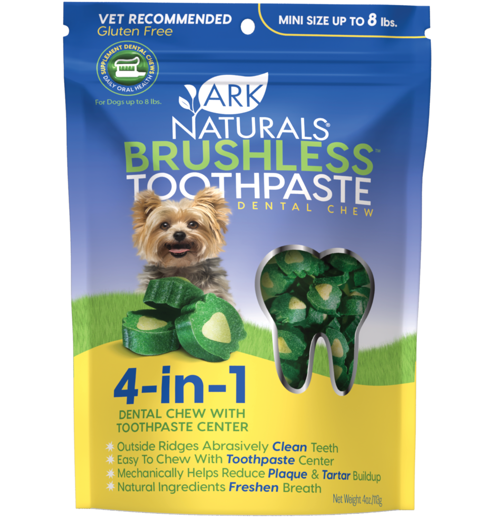 Ark Naturals Brushless Toothpaste Chewables Mini
