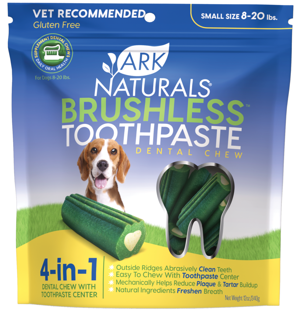 Ark Naturals Brushless Toothpaste Chewables S/M