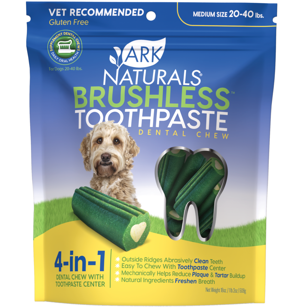 Ark Naturals Brushless Toothpaste Chewables M/L