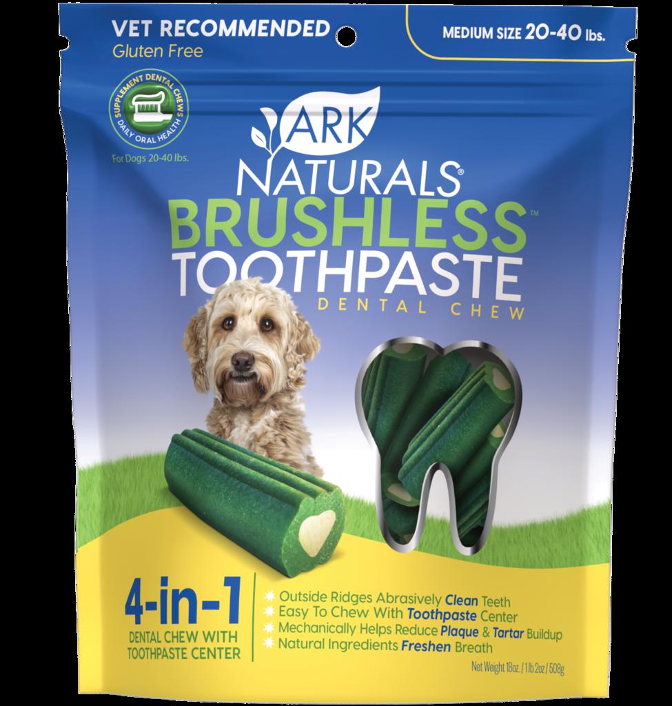Ark Naturals Brushless Toothpaste Chewables Medium