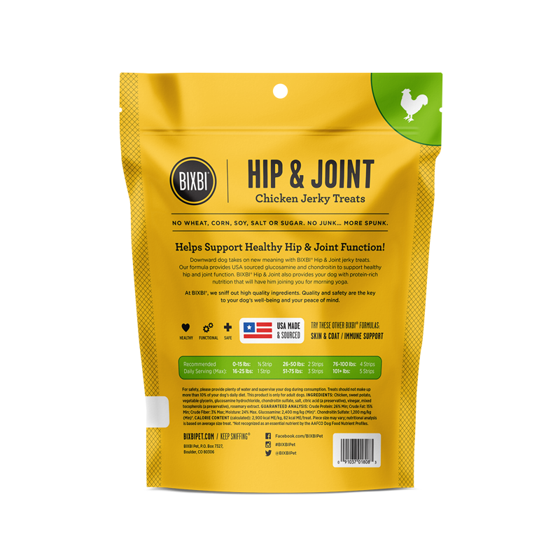 Bixbi Treat Hip & Joint Chicken