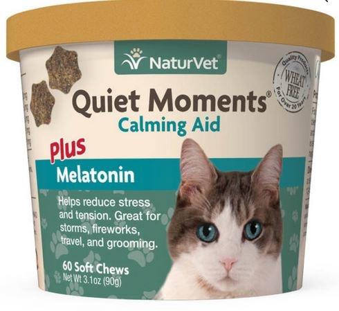 NaturVet Cat Quiet Moments +Melatonin