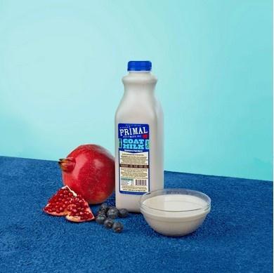 Primal Frozen Raw Goats Milk Enhanced