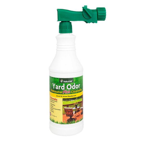 NaturVet Yard Odor Eliminator+ Citronella  (With Hose Nozzle)