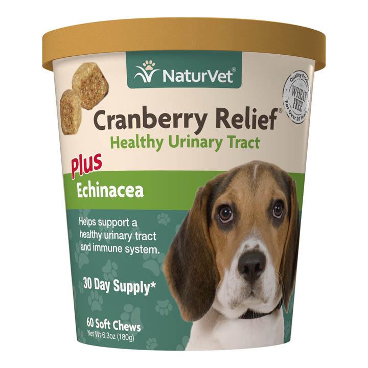 NaturVet Cup Dog Digestive Cranberry Relief Plus Echinecea