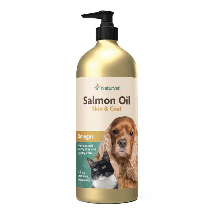 NaturVet Salmon Oil Liquid
