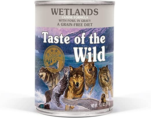 Taste Of The Wild Dog Can Wetlands