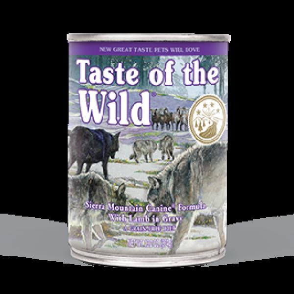 Taste Of The Wild Dog Can Sierra