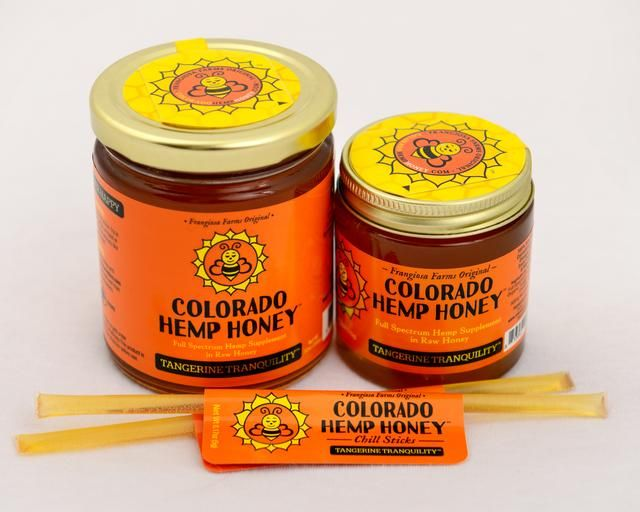 Colorado Hemp Honey Colorado Hemp Honey Tangerine Tranquility; 500 mg Full Spectrum Hemp Extract