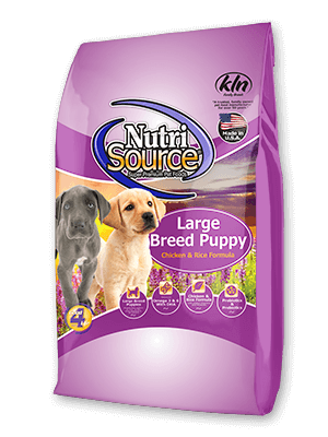 Nutrisource Nutrisource Dog Chicken & Rice Large Breed Puppy 30#
