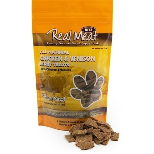 Real Meat Real Meat Chicken Venison Jerky  4oz
