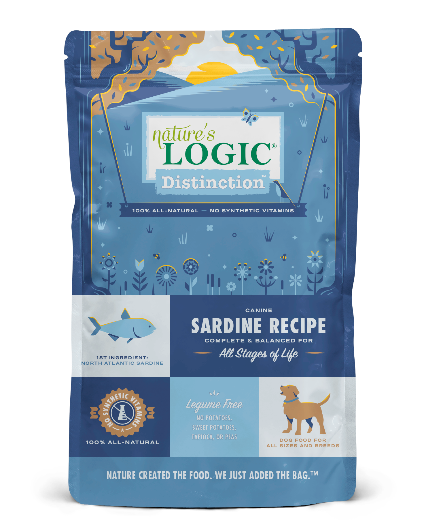 Nature's Logic Nature's Logic Distinction Dog Sardine