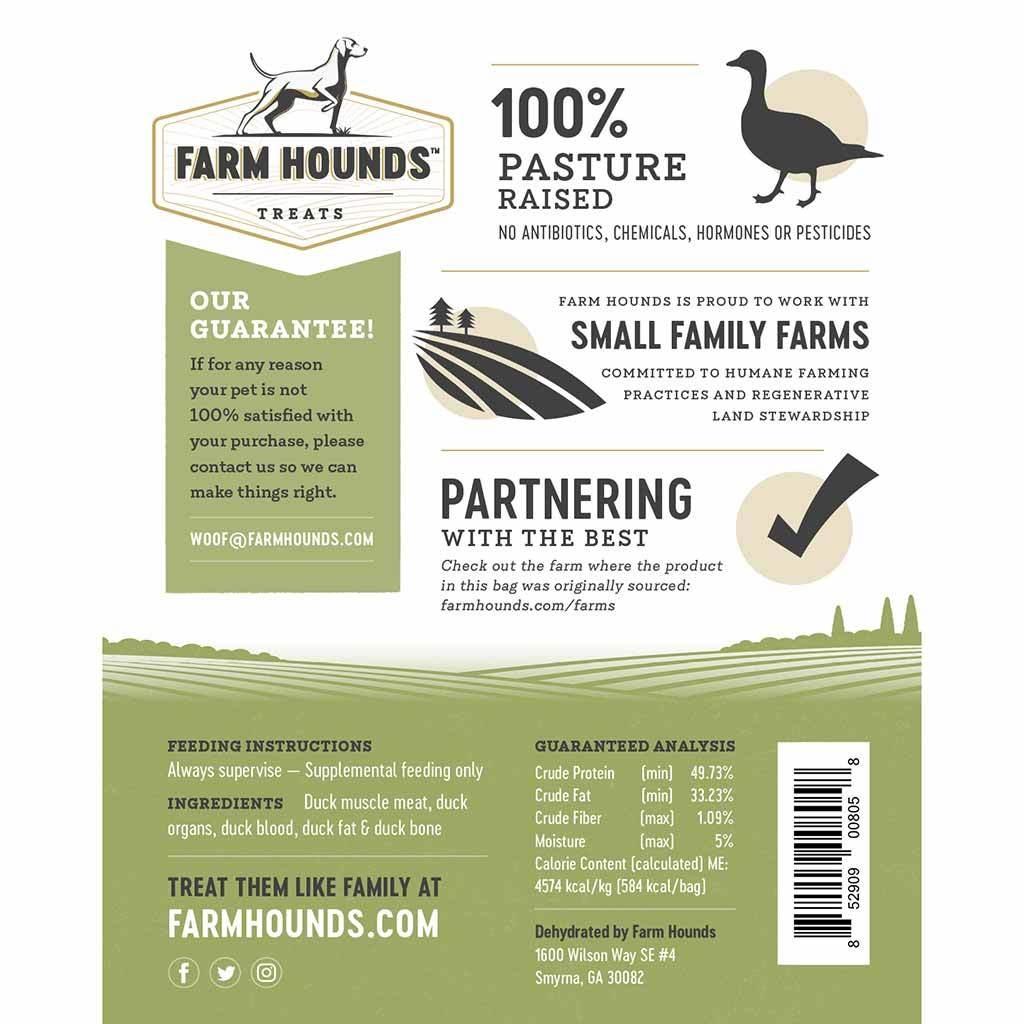 Farm Hounds Farm Hounds Duck Treats 4.5oz