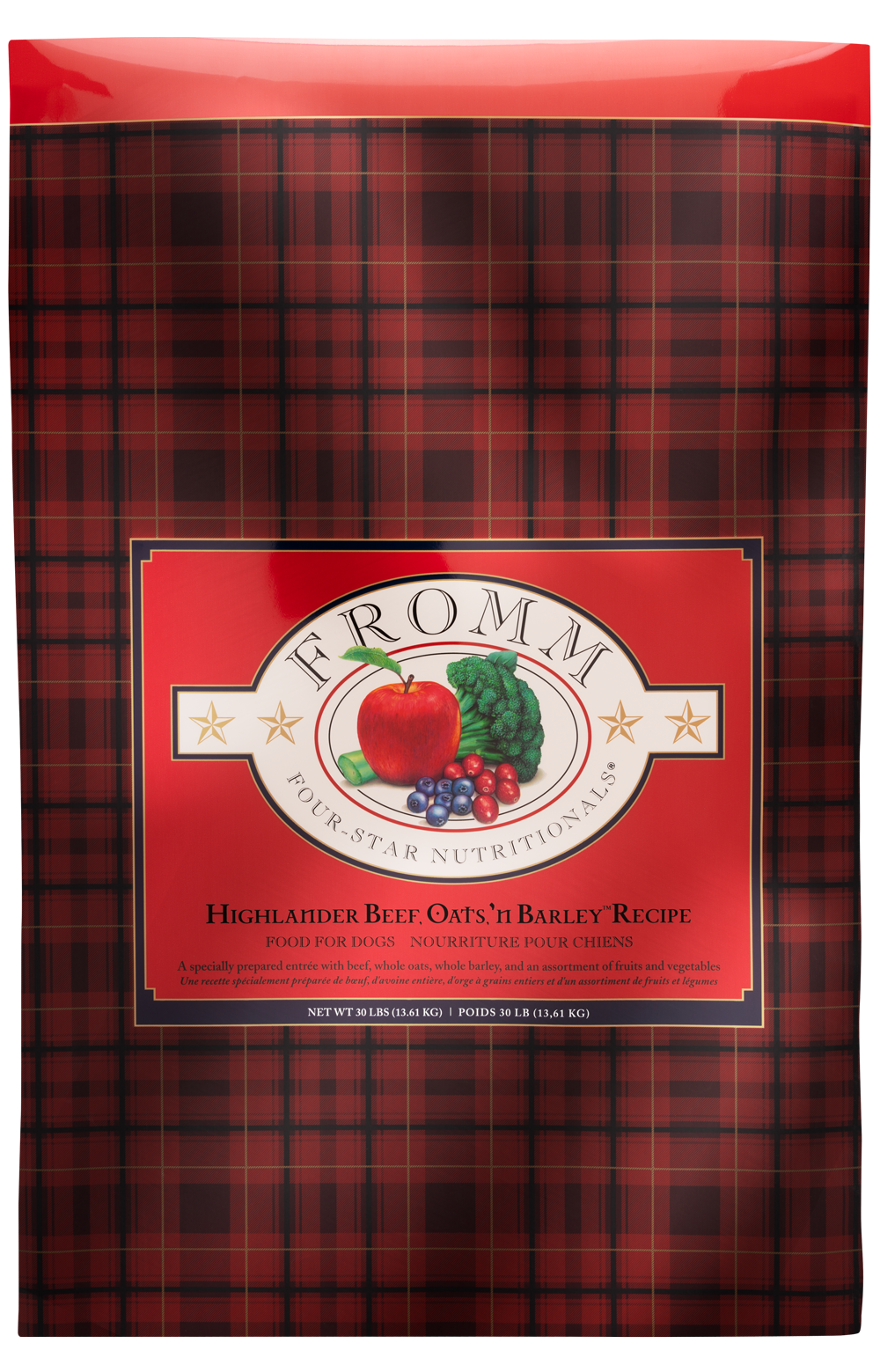 Fromm Family Fromm Dog Highlander Beef Oats 'N Barley