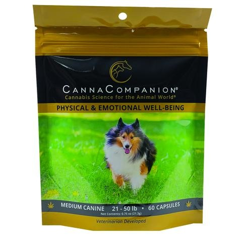 Canna Companion Canna Companion Regular Strength 60 Capsules