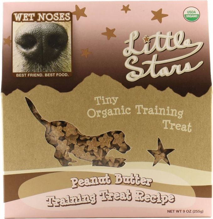 Wet Noses Wet Noses Peanut Butter Little Stars 9oz