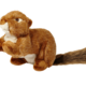 Fluff & Tuff Fluff & Tuff Red Squirrel Squeakless