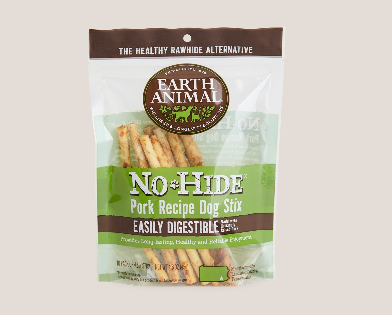 Earth Animal Earth Animal No Hide Pork 10pk