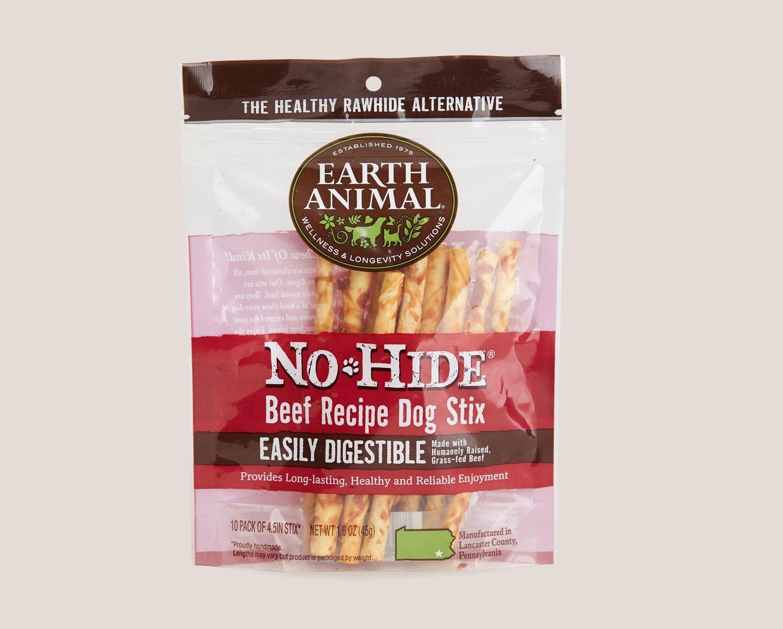 Earth Animal Earth Animal No Hide Beef 10pk