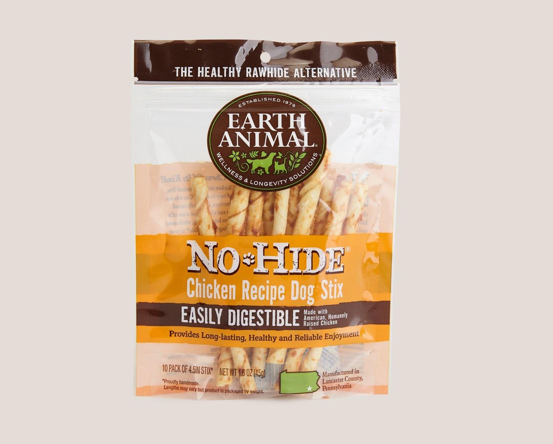 Earth Animal Earth Animal No Hide Chicken 10pk