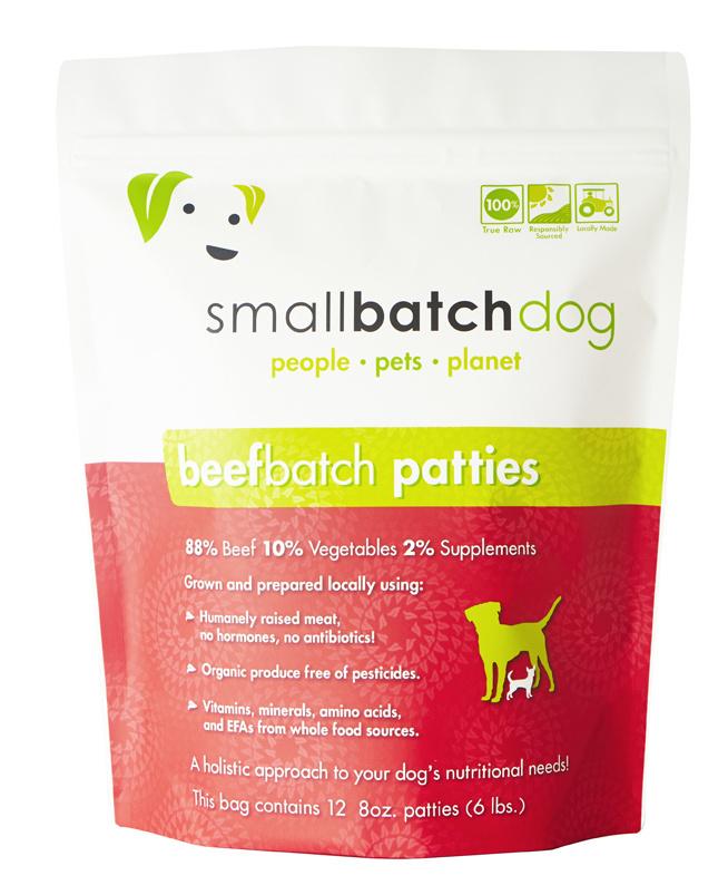 SmallBatch SmallBatch Dog Frozen - Beef