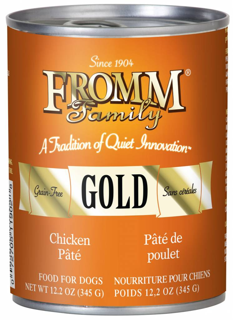Fromm Family Fromm Can Dog Chicken Pate 12.2oz
