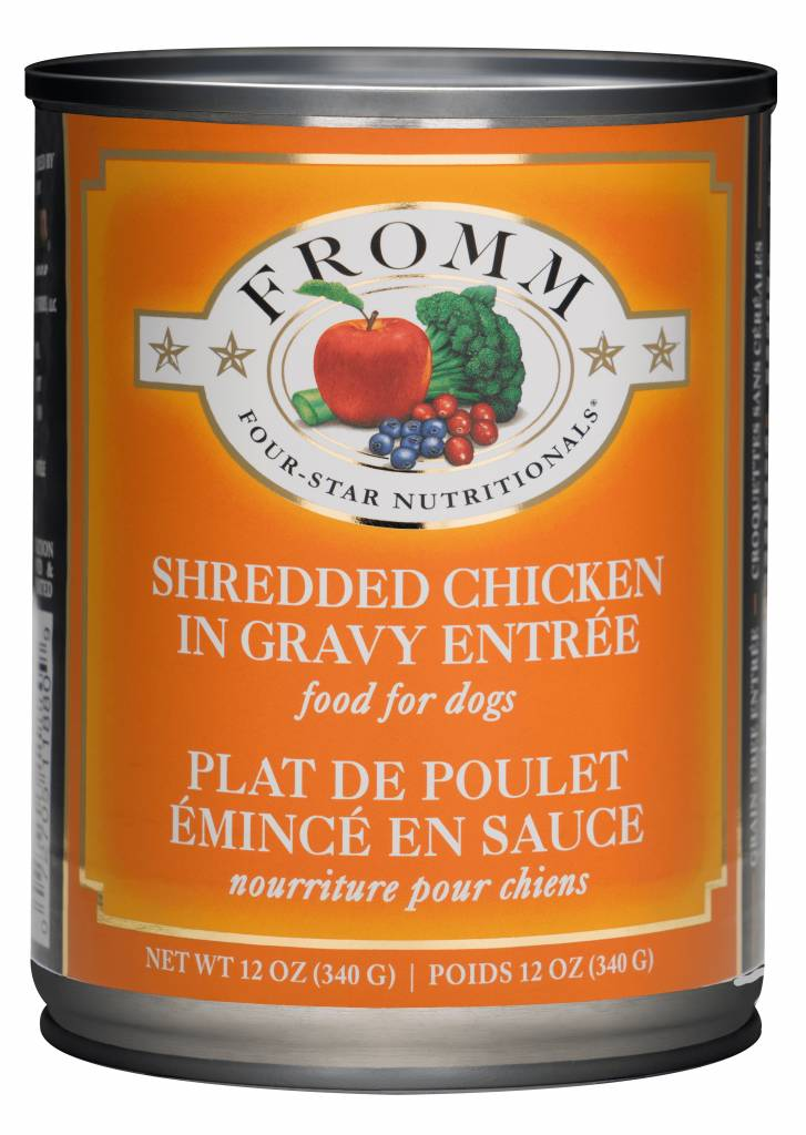 Fromm Family Fromm Can Dog Shredded Chicken 12.2 oz