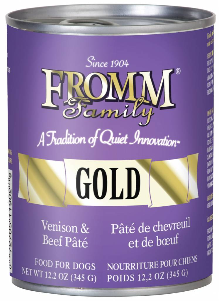 Fromm Family Fromm Can Dog Beef and Venison 12.2 oz