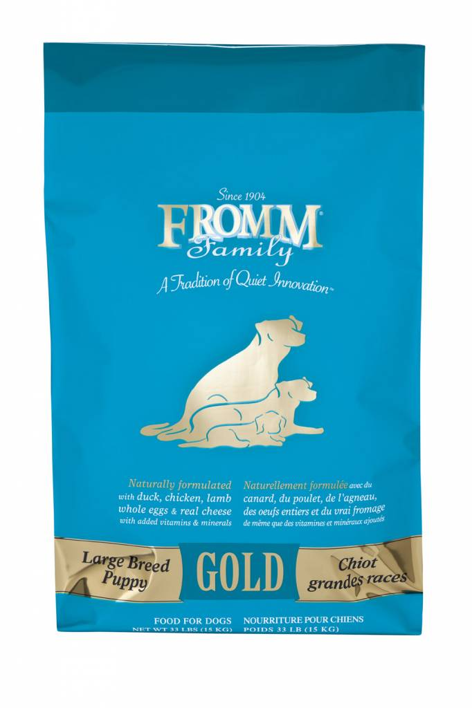 Fromm Family Fromm Dog Gold Large Breed Puppy