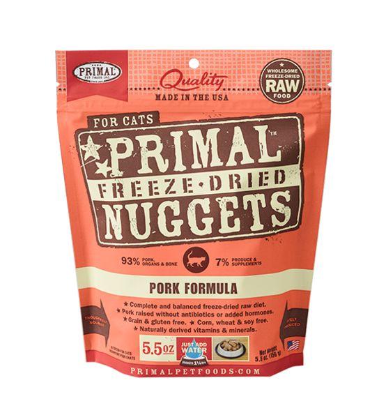 Primal Pet Foods Primal CAT Food Pork  5.5oz