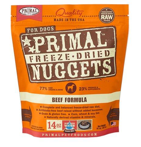 Primal Pet Foods Primal Dog FD Beef  14oz