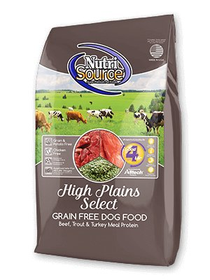 Nutrisource Nutrisource High Plains Grain Free 30#